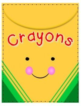 Empty Crayon Box Clipart.