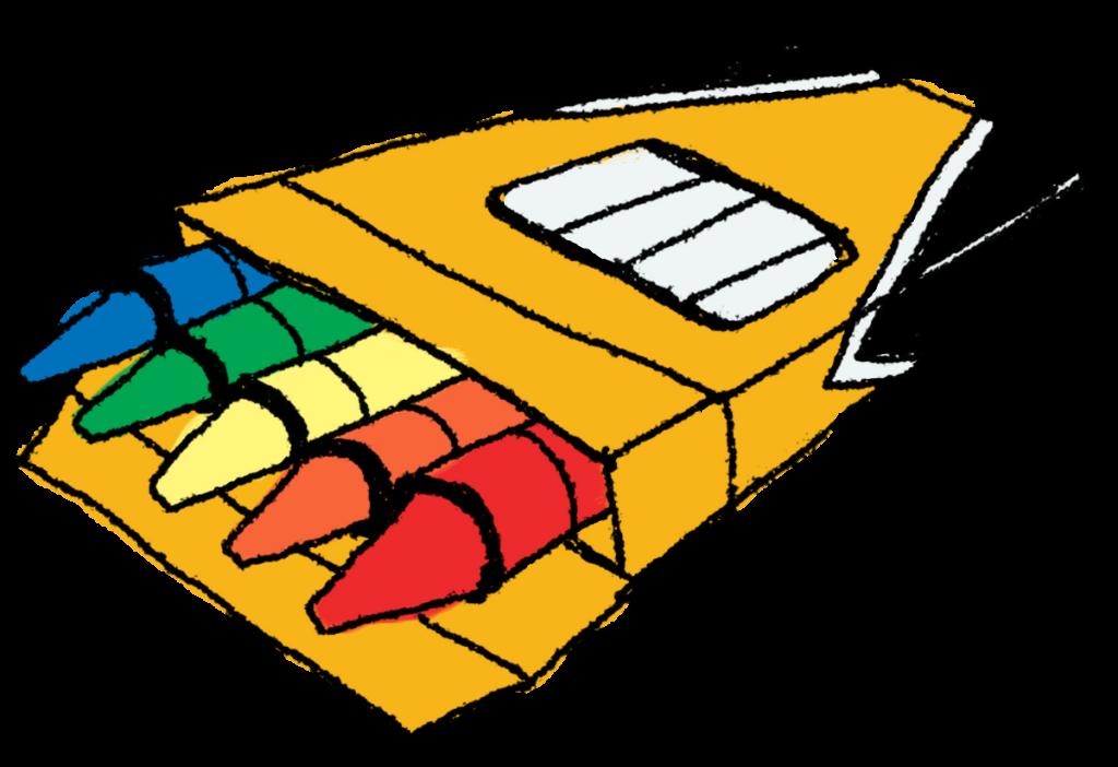 Clip Art Crayons.