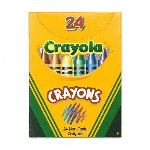 Crayola Crayons Box.
