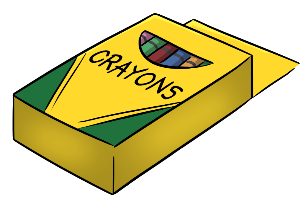 Crayon Box Clipart Free.