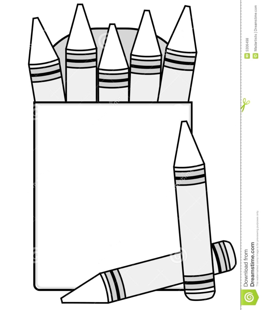 Crayon outline clipart 8 » Clipart Station.