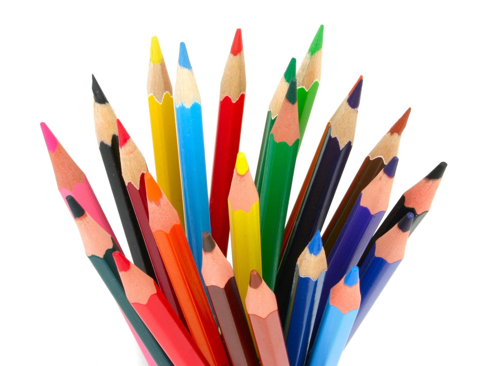 Colored Pencils Wallpaper.