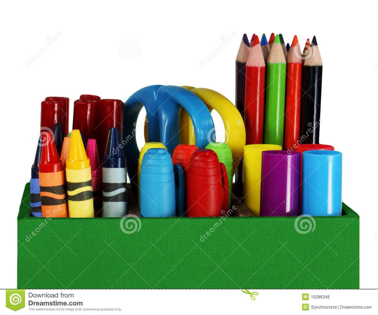 Crayon colored pencil clipart