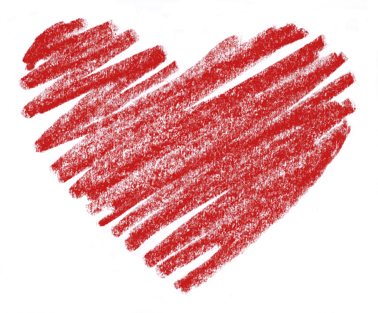 Download crayon heart clipart Red: A Crayon's Story Clip art.
