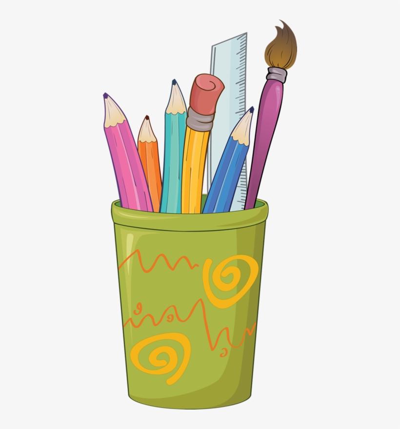 Clipart School Crayon.