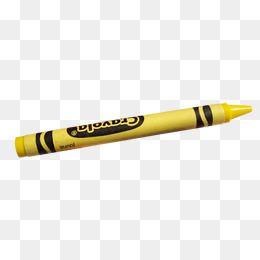 Yellow Crayons Png, Ve #172601.