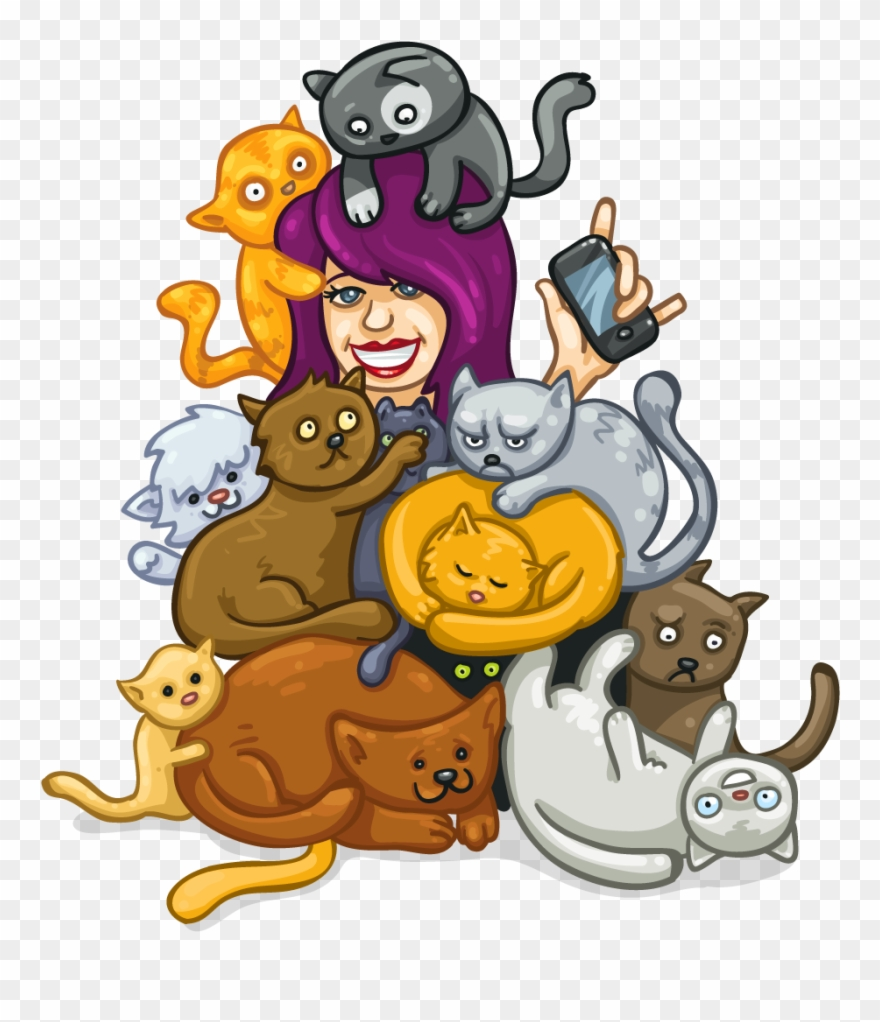 Crazy Cat Clipart 20 Free Cliparts