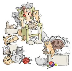 Free Cat Lady Cliparts, Download Free Clip Art, Free Clip Art on.