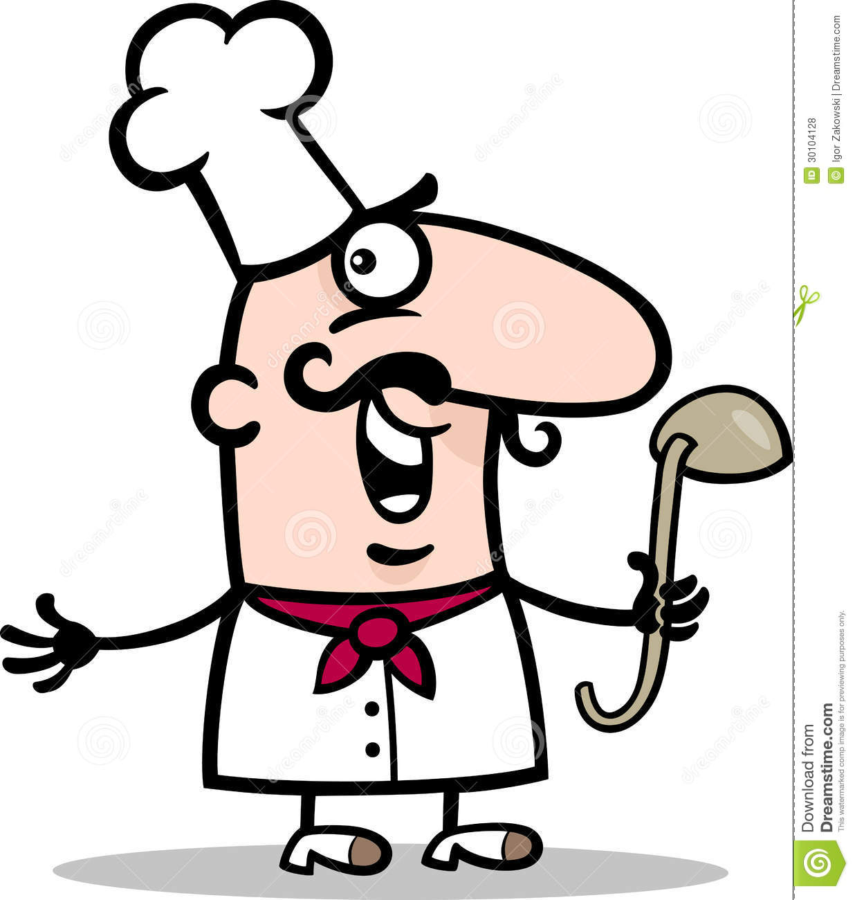 Funny Cooking Clipart.