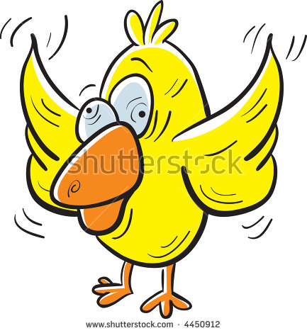 """""""crazy Chicken"""" Stock Images, Royalty."""
