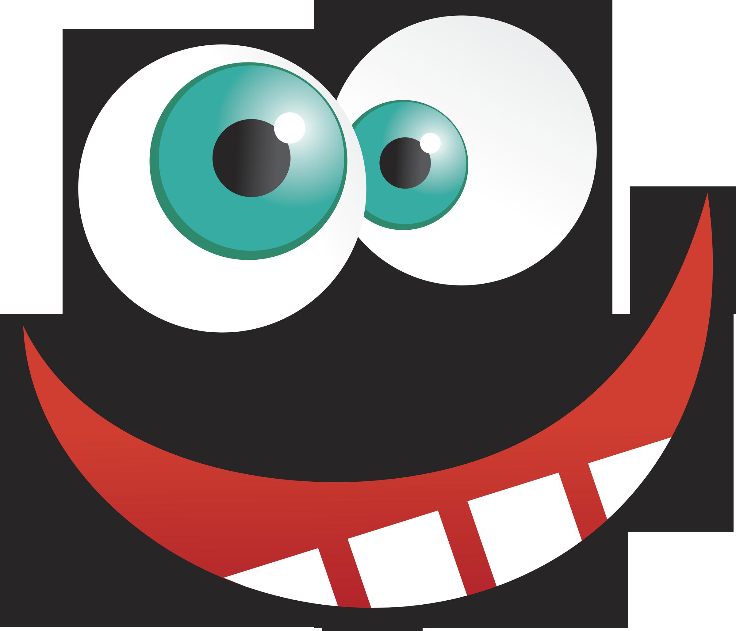 Crazy eyes clip art.