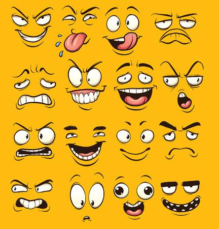 Funny faces clipart 7 » Clipart Station.