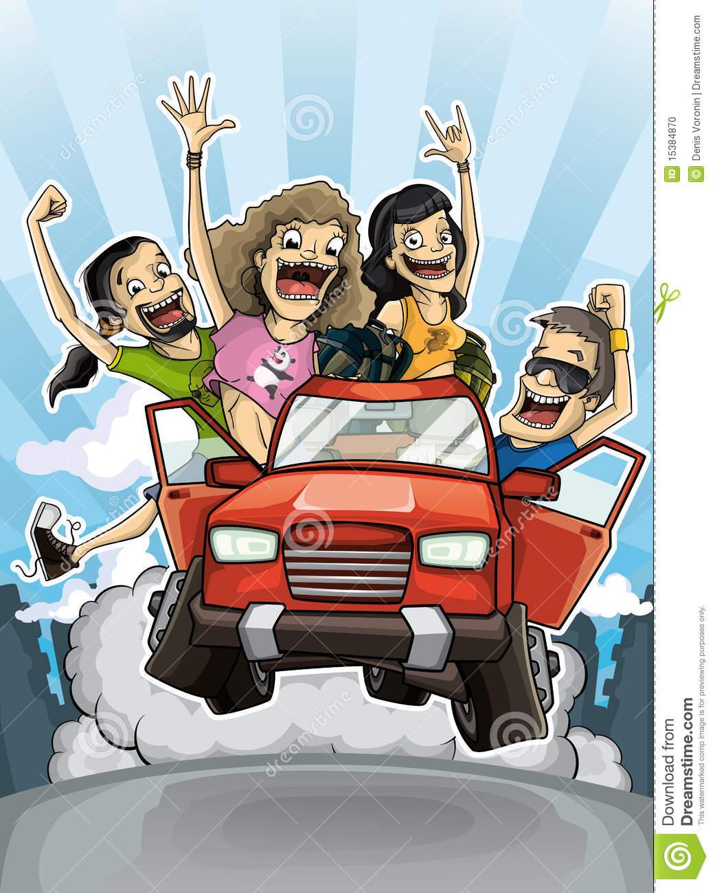 crazy driver clipart #5