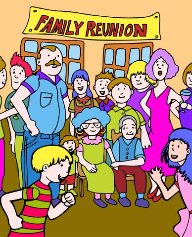 Crazy families.