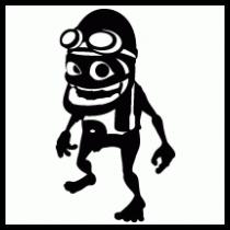 Crazy Frog Vector.