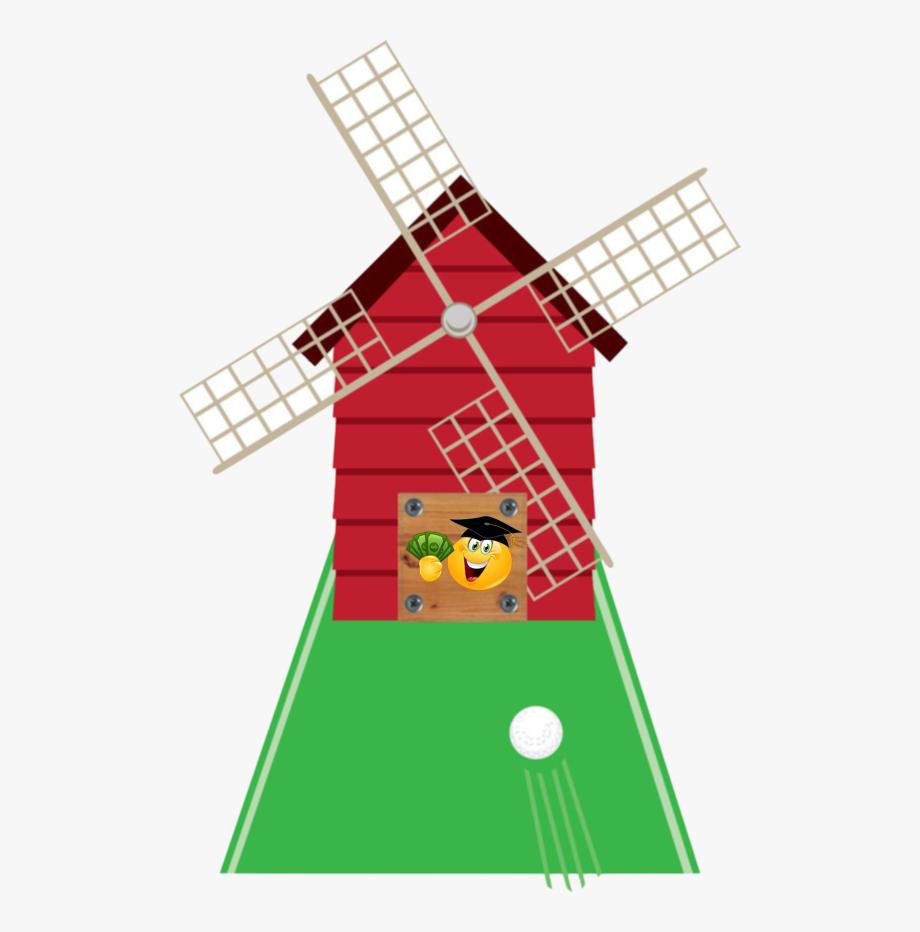 Golf Clipart Windmill.
