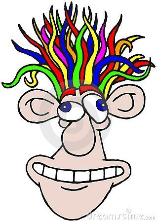 20+ Crazy Hair Day At School Clip Art Ideas and Designs.