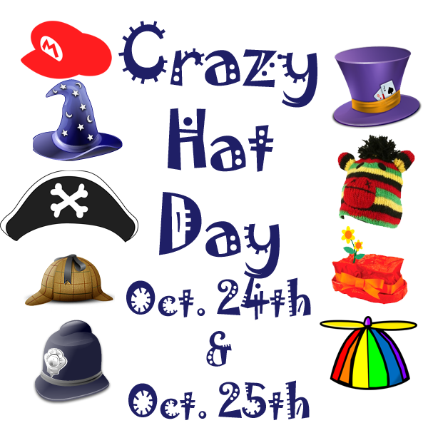 crazy hat day.
