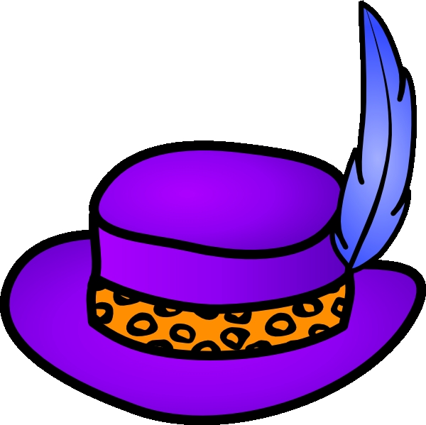 Crazy Hat Day Clipart.