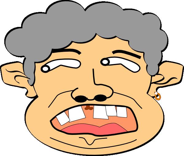 Crazy Man Clip Art at Clker.com.