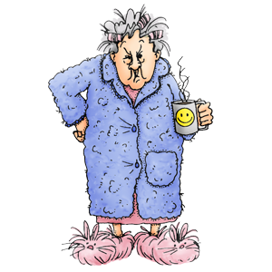1091 Old Lady free clipart.