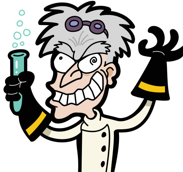 Mad Doctor Clipart.
