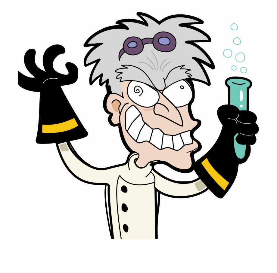 Free Mad Scientist Png, Download Free Clip Art, Free Clip.