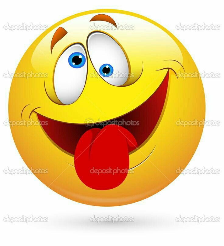 Smiley Face With Tongue Out Clipart.