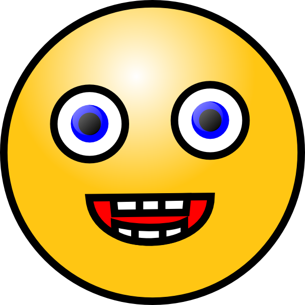 Free Crazy Smiley Face, Download Free Clip Art, Free Clip.