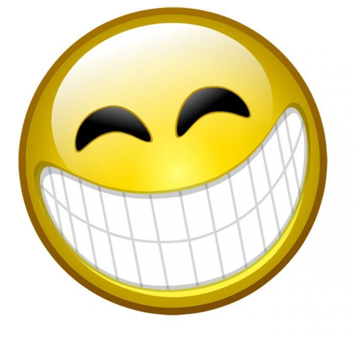 Crazy Happy Face Clipart.