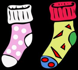 Download socks clip art clipart Clip art crazy Sock Clip art.