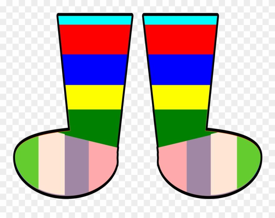 Crazy Sock Clipart.