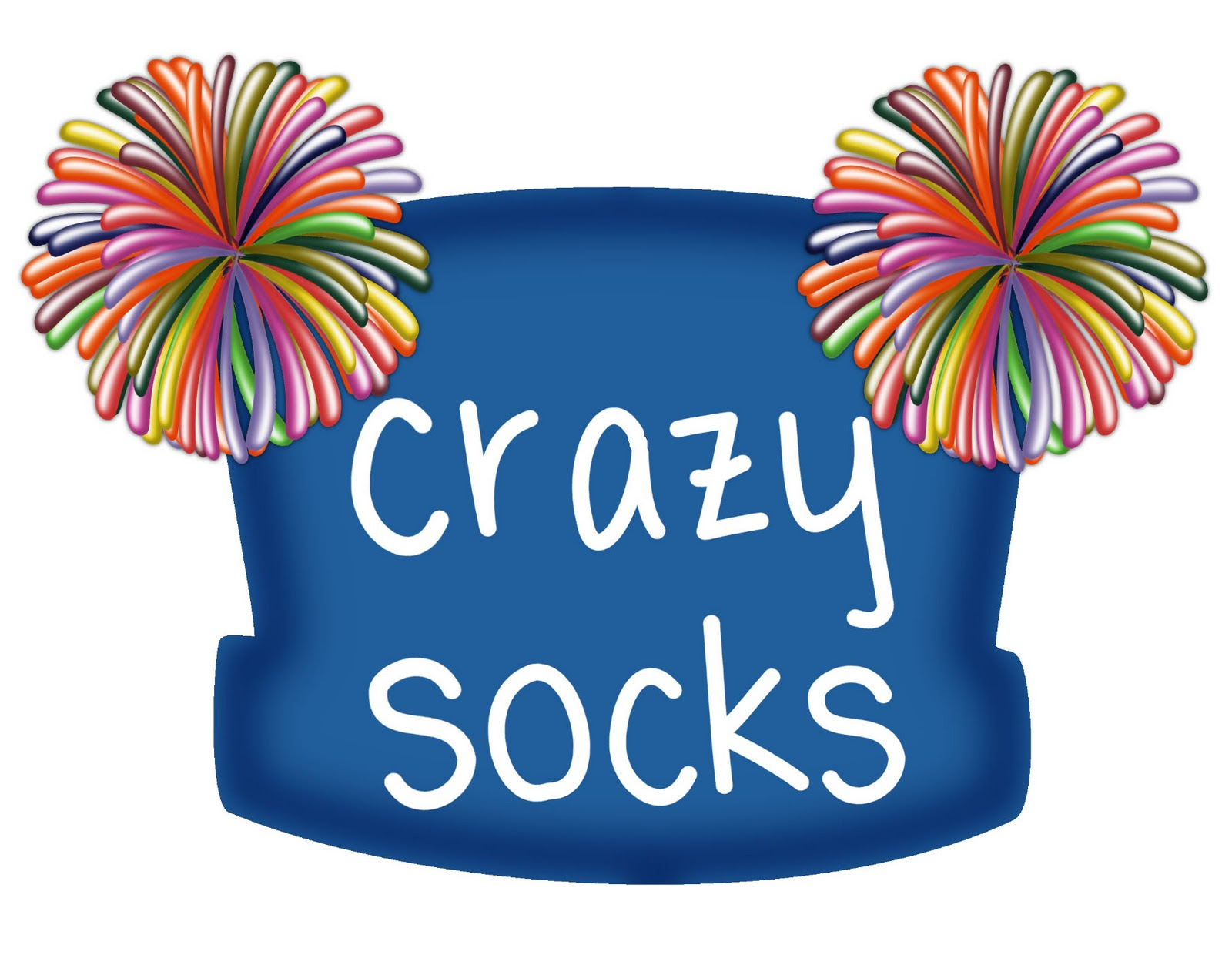 Crazy Sock Day Clip Art N3 free image.