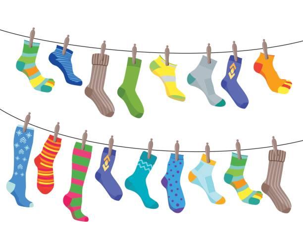 Best Sock Illustrations, Royalty.
