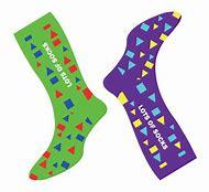 Crazy Sock Day.