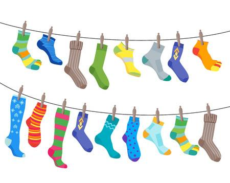 Crazy socks clipart 1 » Clipart Station.