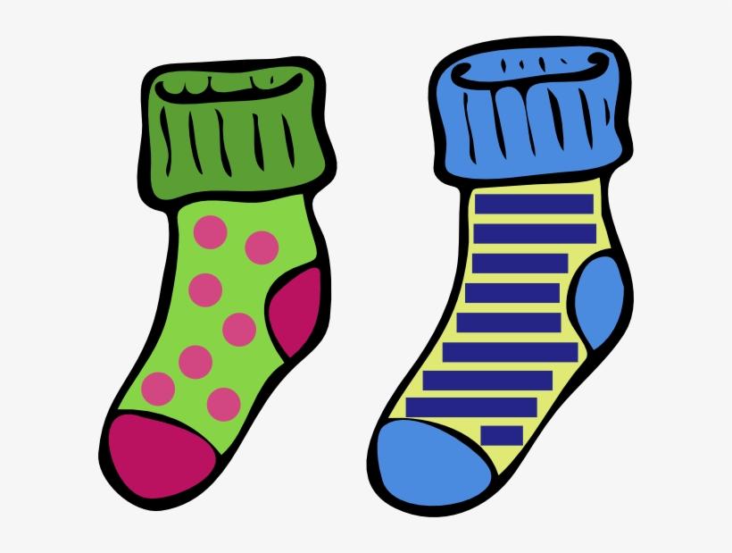 Clip Art Crazy Socks Clipart.