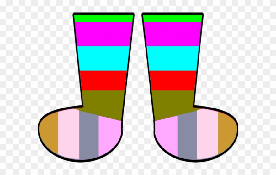 Socks Clipart Pair.