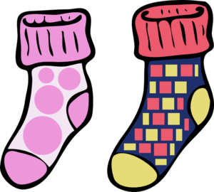 Crazy socks clipart » Clipart Portal.