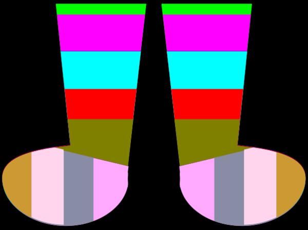 Clip art crazy socks clipart clipart kid 5 image #37629.