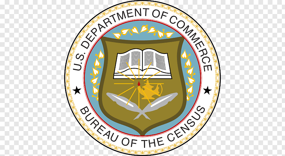 United States Of America Area, United States Census Bureau.