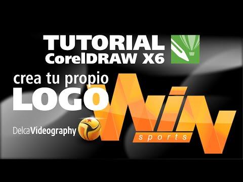 (INTERMEDIO) TUTORIAL 10 Corel Draw X6: Crea tu propio Logo / Design your  own logo.
