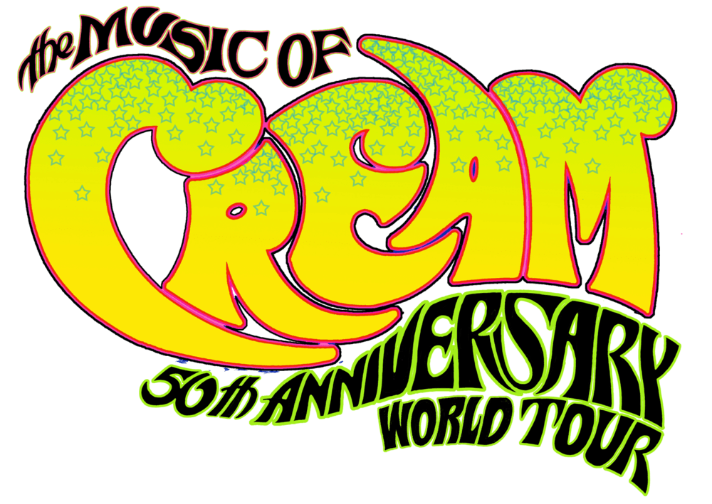 Cream Rock Band Logo.
