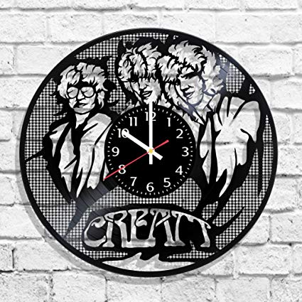 Amazon.com: Cream rock band design wall clock, Cream band.