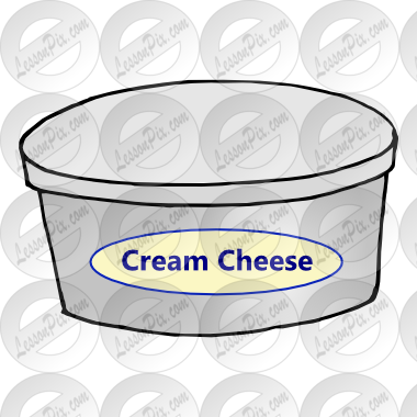 Cream Cheese Picture for Classroom / Therapy Use.