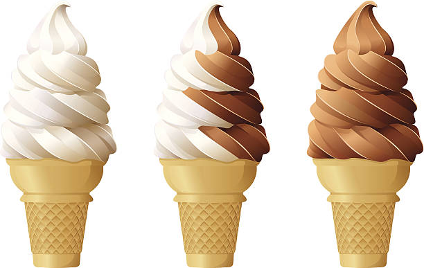 Best Ice Cream Cone Illustrations, Royalty.