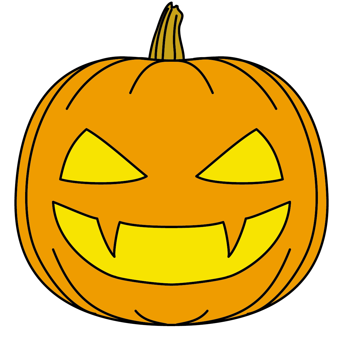 Cream colored pumpkin clipart.