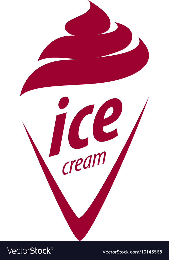 Logo ice cream.