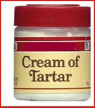 Cream of Tartar.