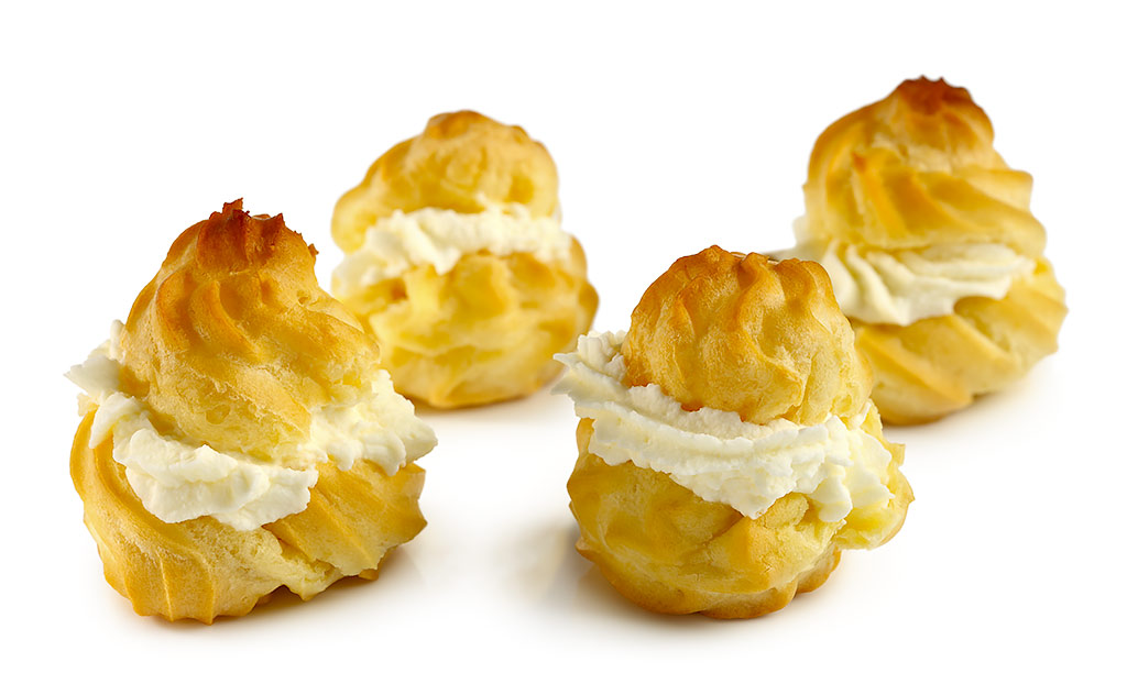 Cream puff clip art.
